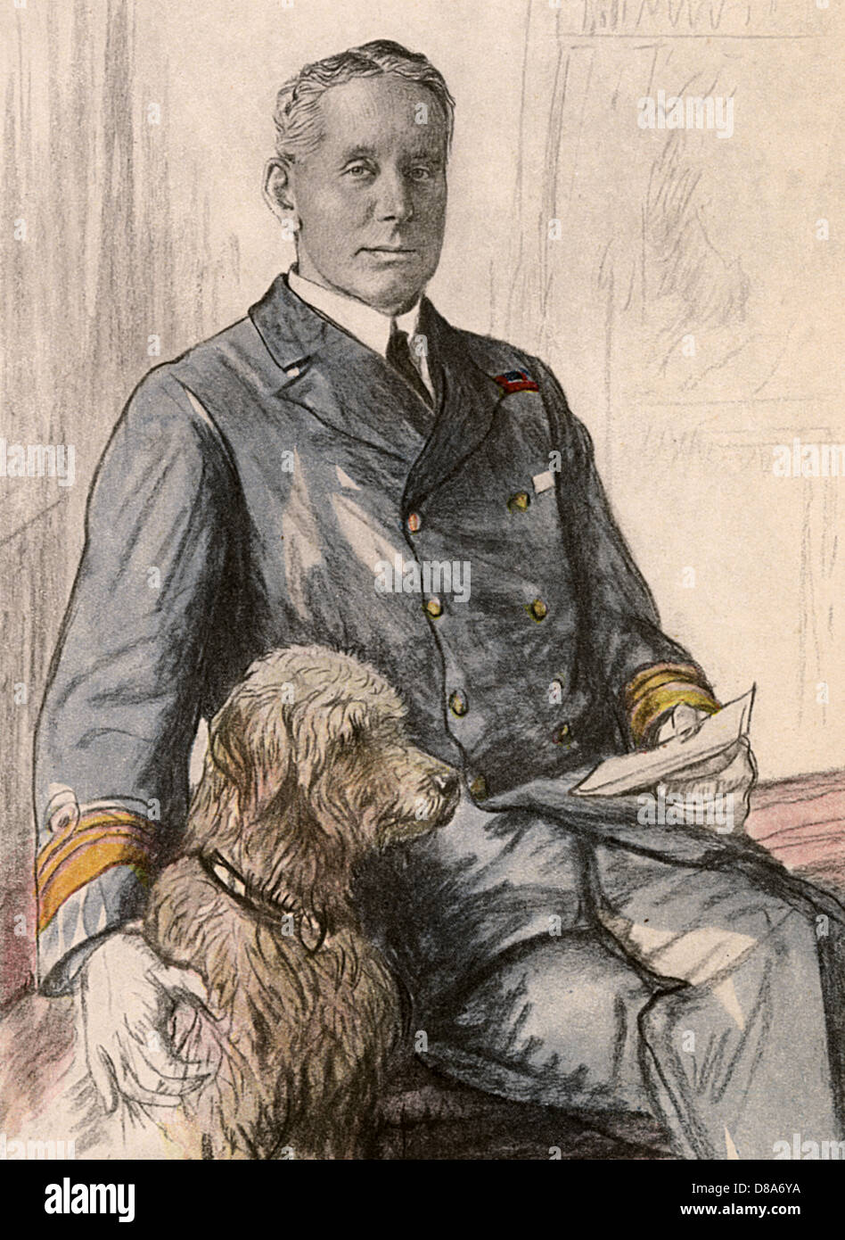 Sir Hugh Evan Thomas - Stock Image