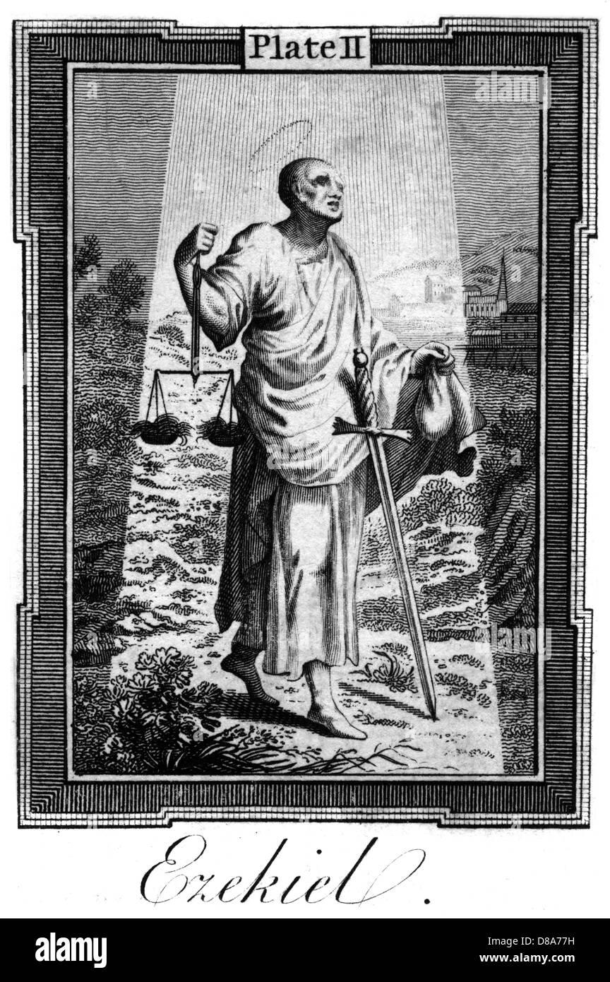 Ezekiel  Prophet - Stock Image