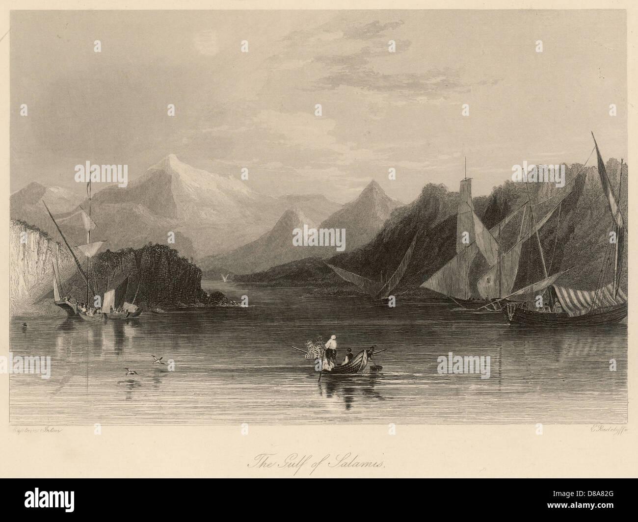 Greece Salamis - Stock Image