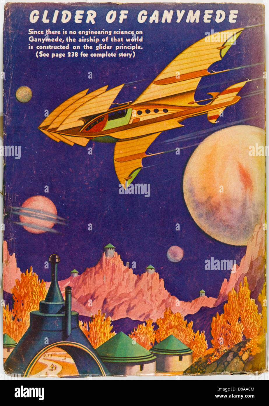 Glider Of Ganymede - Stock Image
