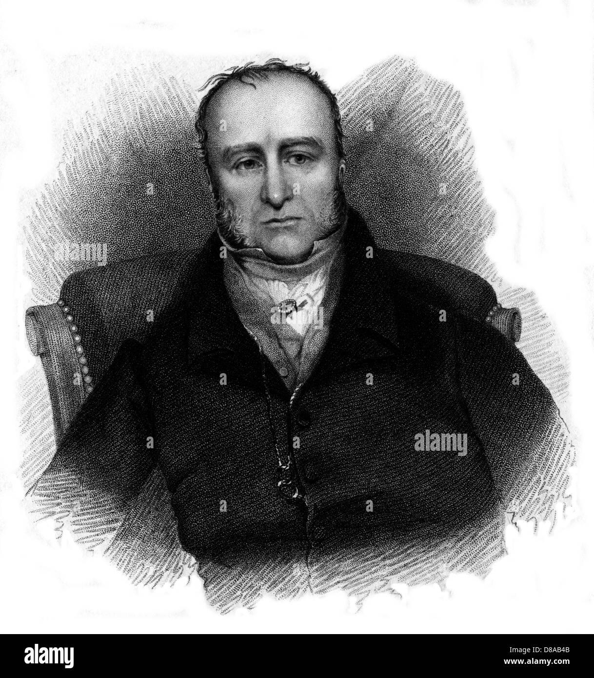 George Bennet  Scholar - Stock Image