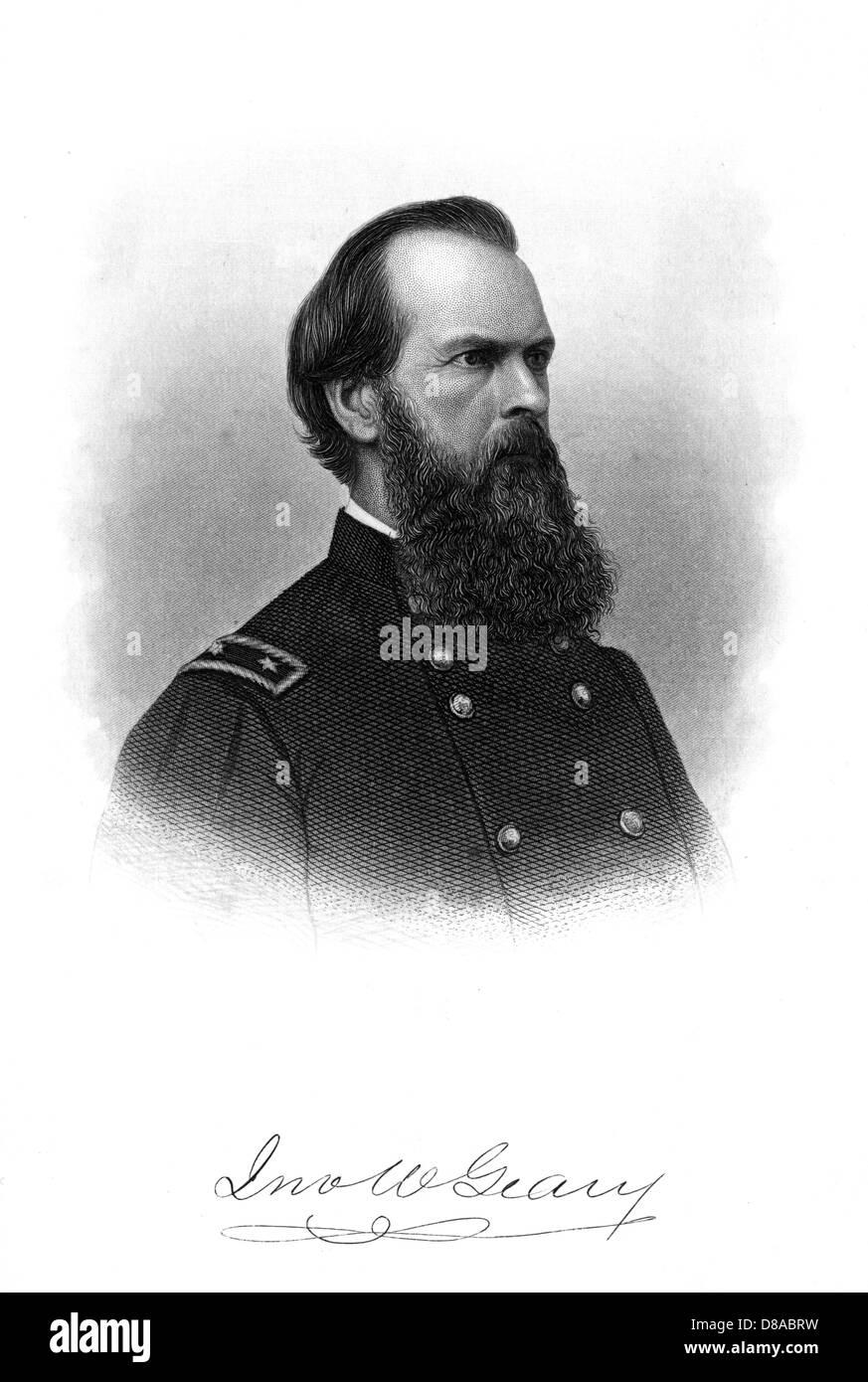 John White Geary - Stock Image