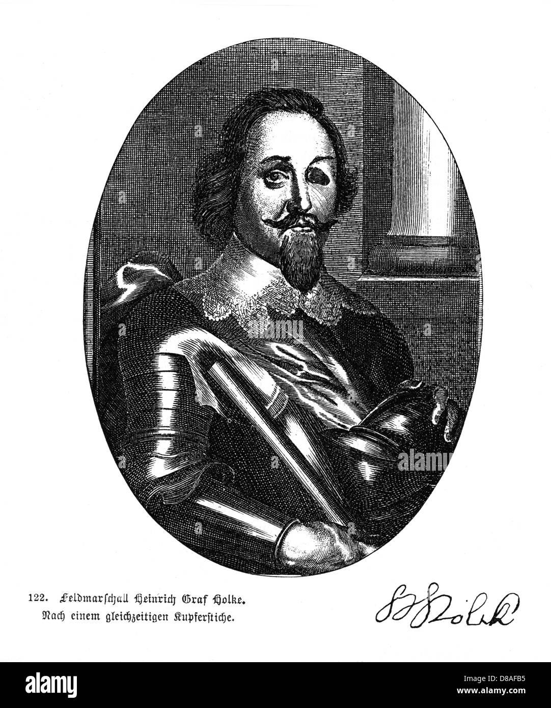 Heinrich Graf Holke - Stock Image