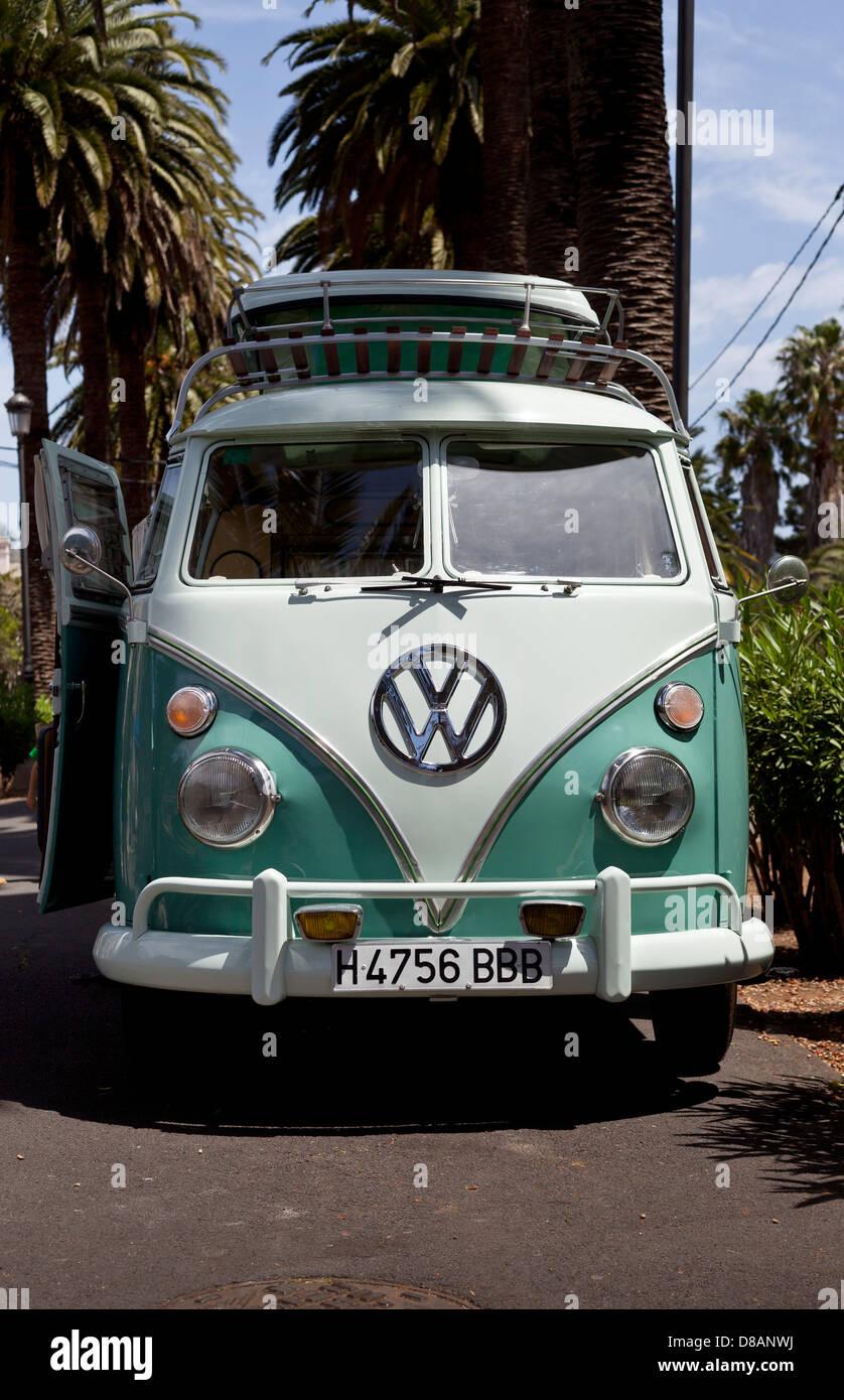Volkswagen VW campervan - Stock Image