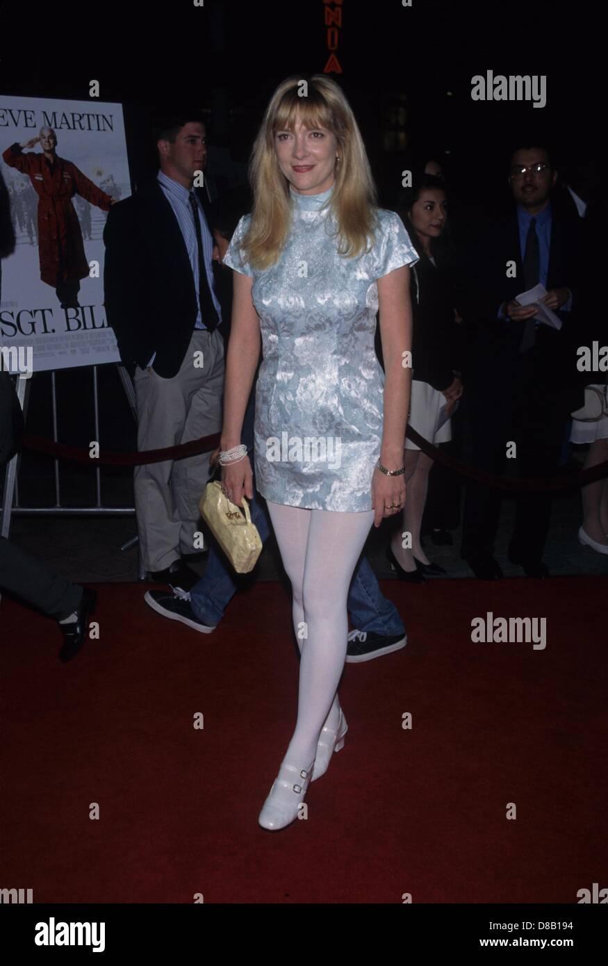 GLENNE HEADLY at the SGT. BILKO premiere 1996.k4392fb.(Credit Image: © Fitzroy Barrett/Globe Photos/ZUMAPRESS.com) - Stock Image