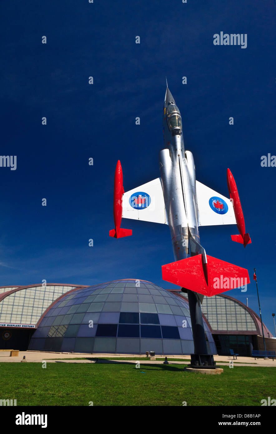 Canadian Warplane Heritage Museum Hamilton Ontario Canada - Stock Image