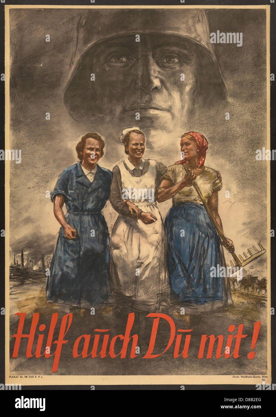 Nazi Propaganda Women Stock Photos & Nazi Propaganda Women ... Nazi Women Propaganda