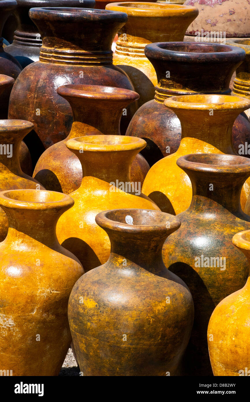 Mexican Pottery - Stock Image