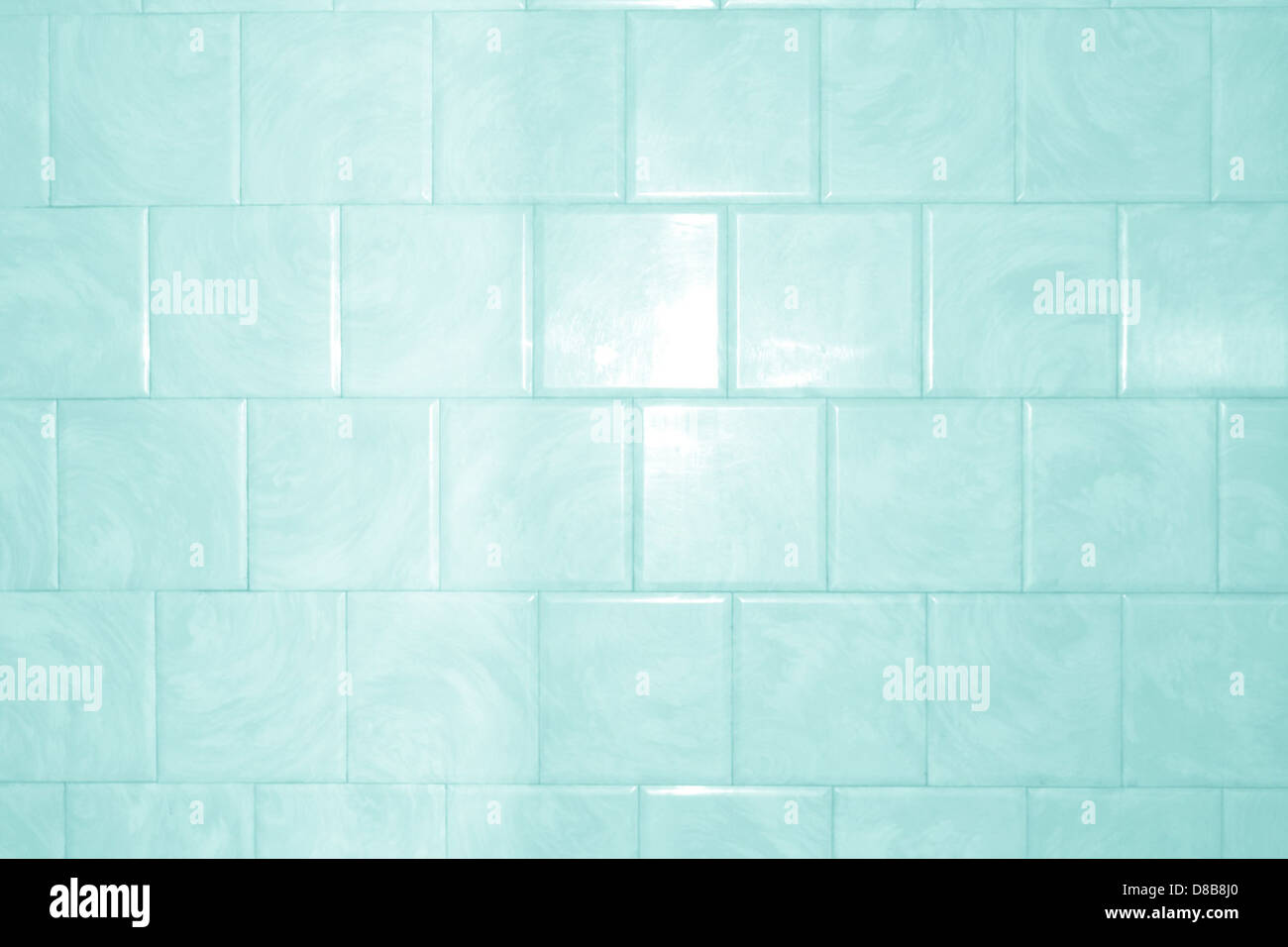 aqua teal bathroom tile with swirl pattern texture Stock Photo ...
