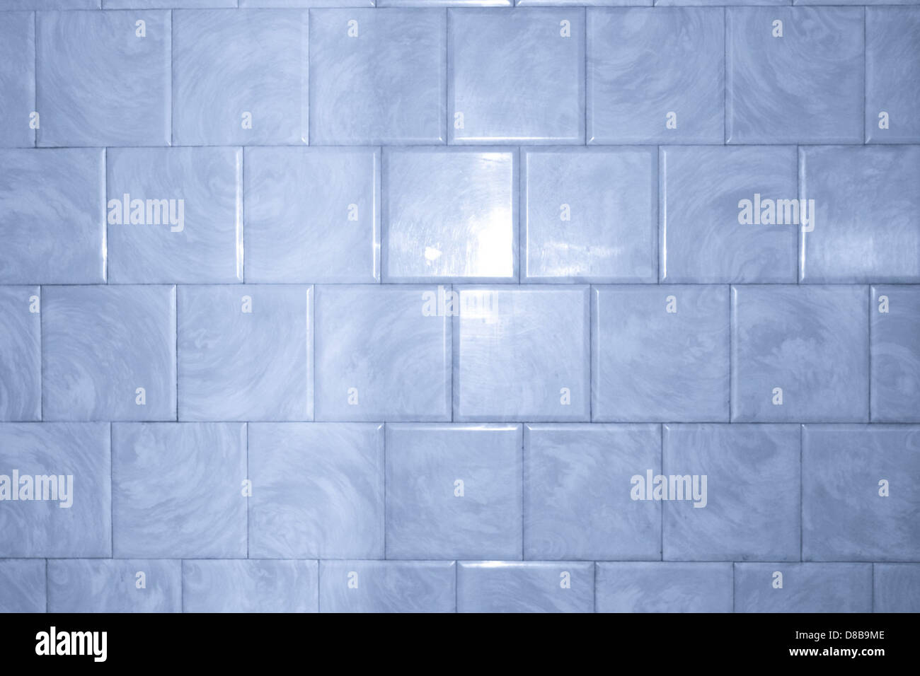 blue bathroom tile with swirl pattern texture Stock Photo: 56797454 ...
