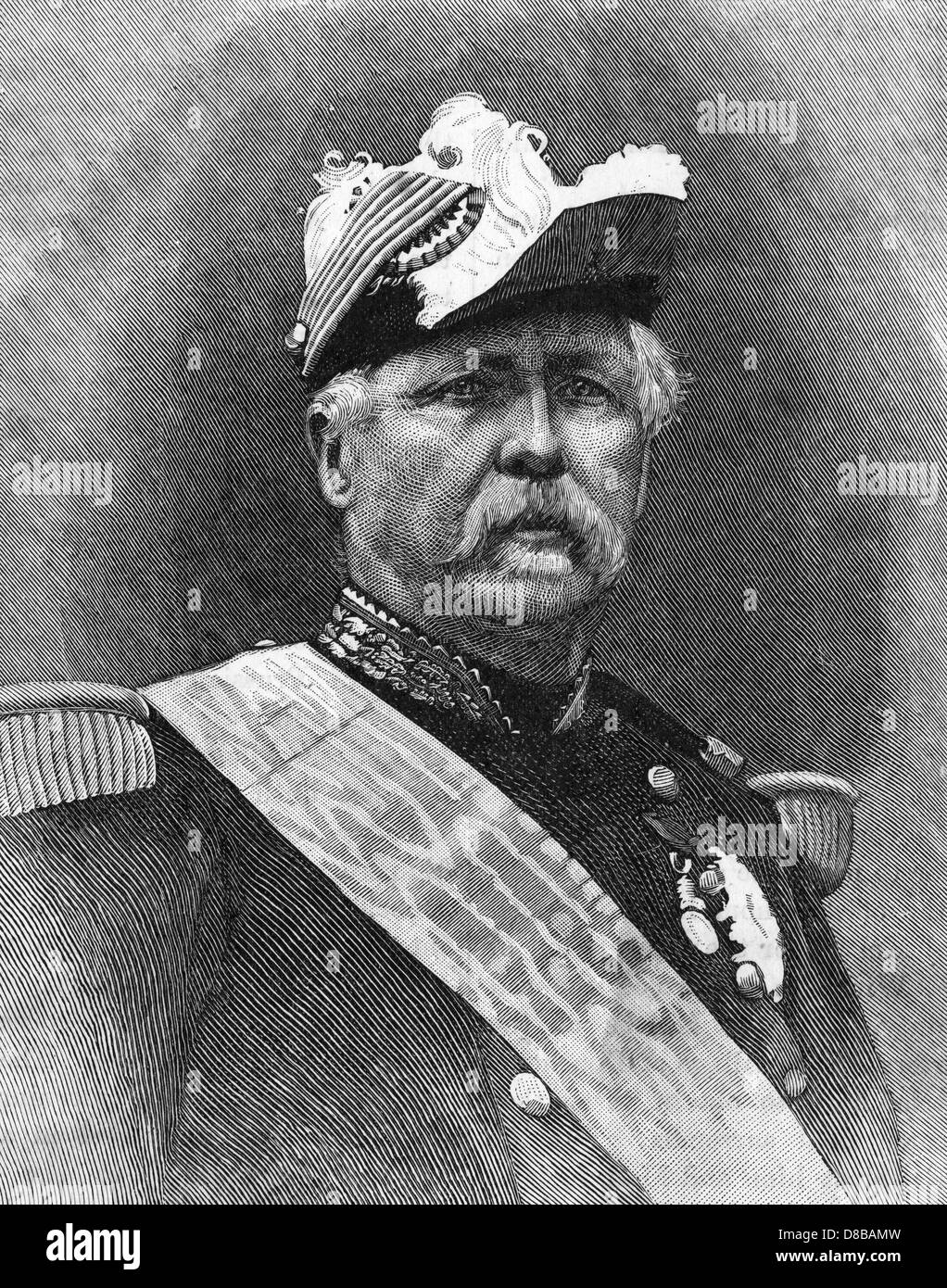 Marshal Macmahon - Stock Image