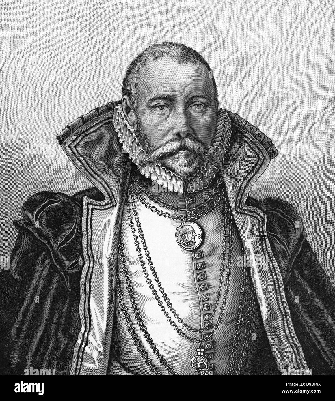 Tycho Brahe Gheyn - Stock Image