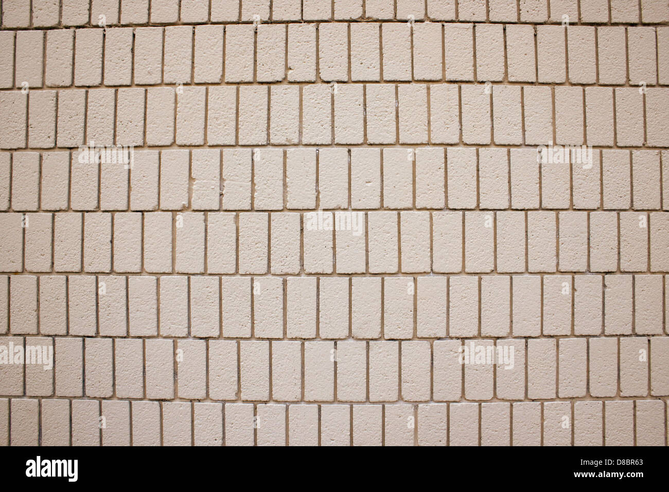 Tan Brick Wall Texture With Vertical Bricks