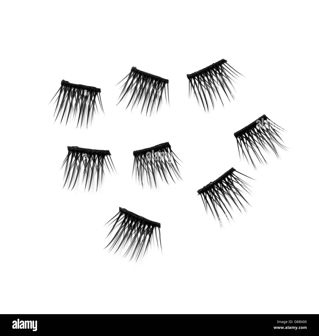 False Eyelashes Cut Out Stock Photos False Eyelashes Cut Out Stock