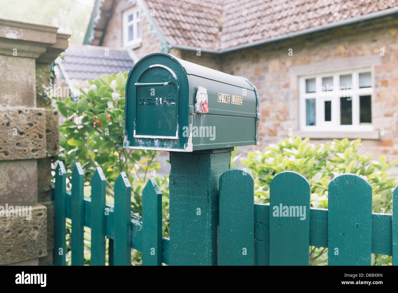 US Postal service post box - Stock Image