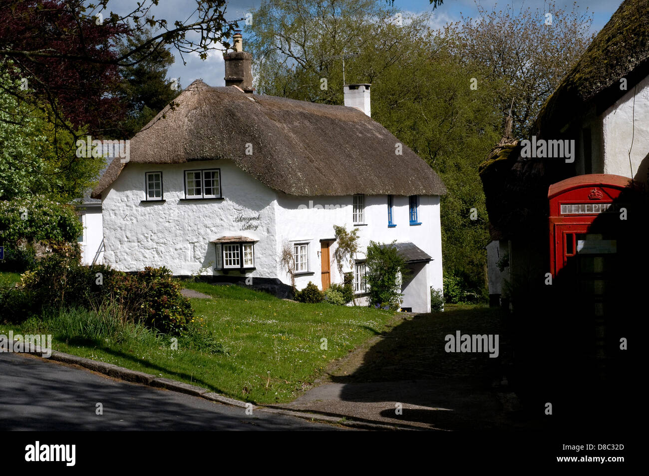 North Bovey,Devon - Stock Image
