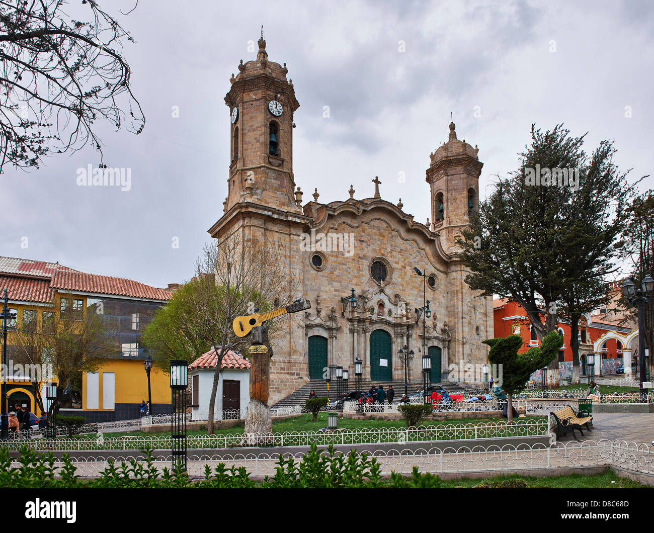 Cathedral of Potosi, Bolivia - Stock Image