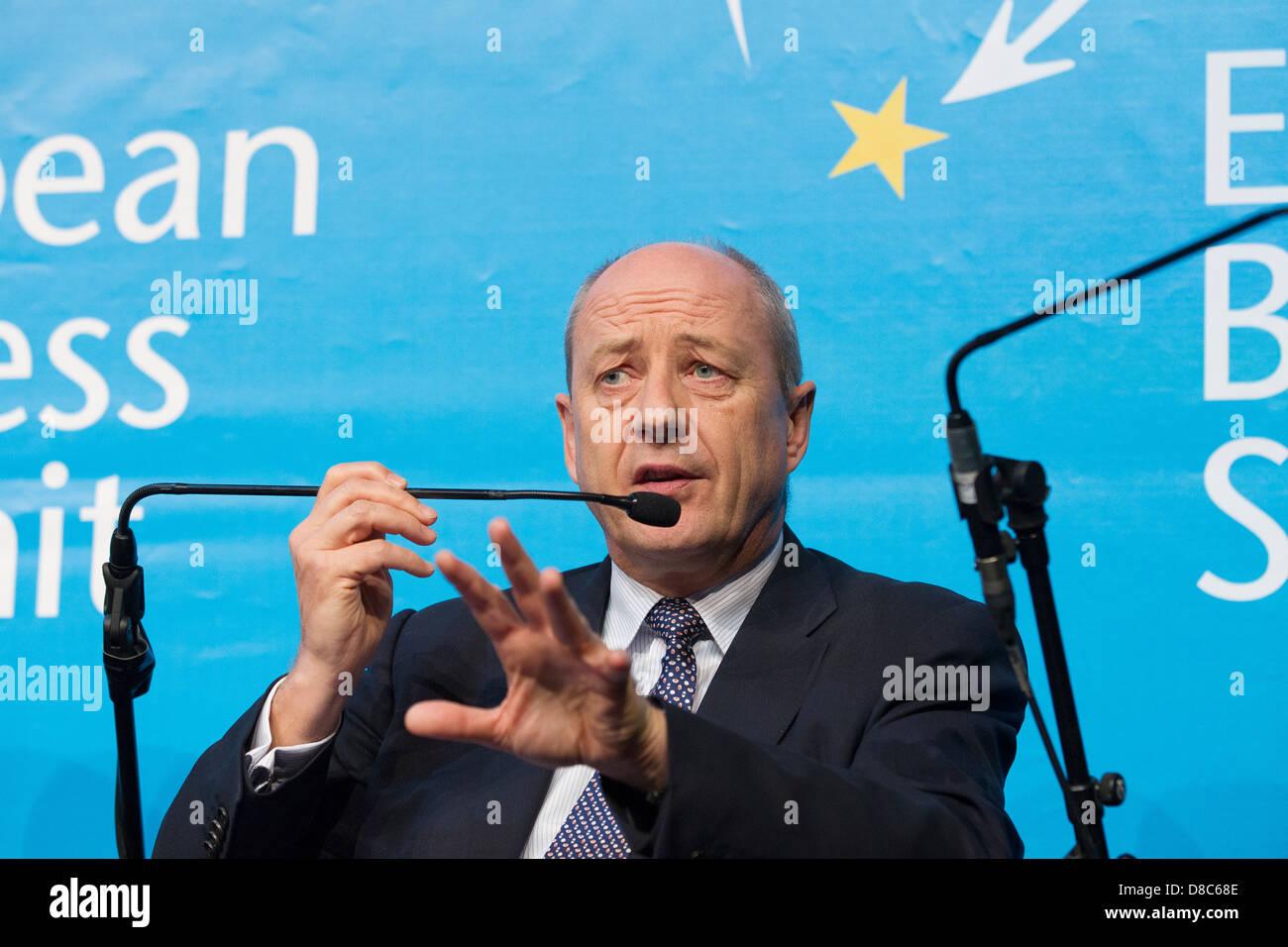 Ian Hudson, President EMEA, Dupont - Stock Image