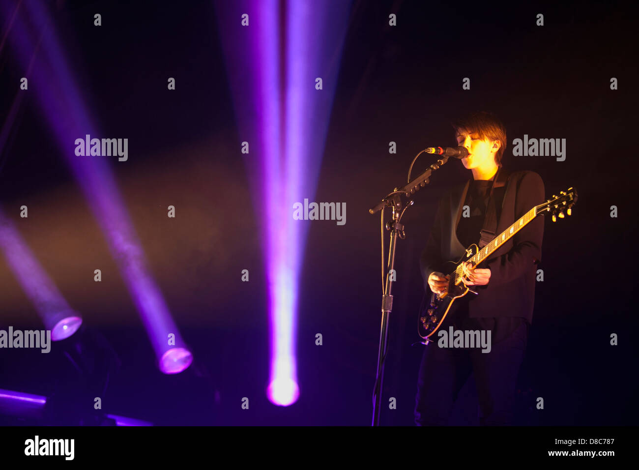 Romy Madley Croft at the Night and Day festival, a full day of live acts programmed by the band The XX, Lisbon, - Stock Image