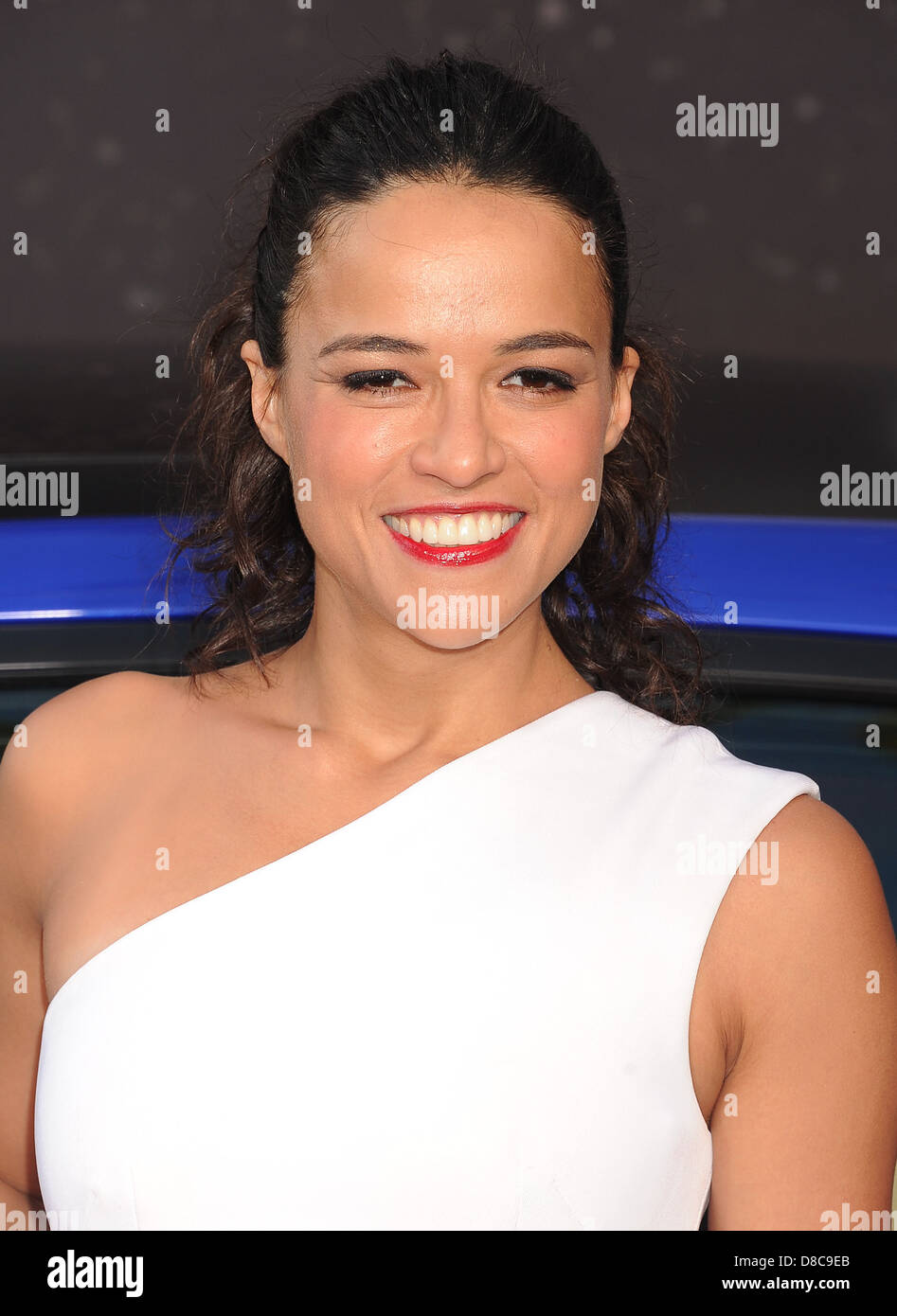 MICHELLE RODRIGUEZ US film actress in May 2013. Photo Jeffrey Mayer - Stock Image