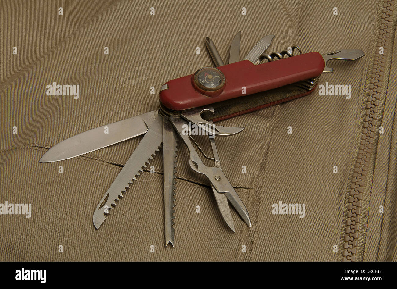 Chinese replica Swiss Army knife - Stock Image