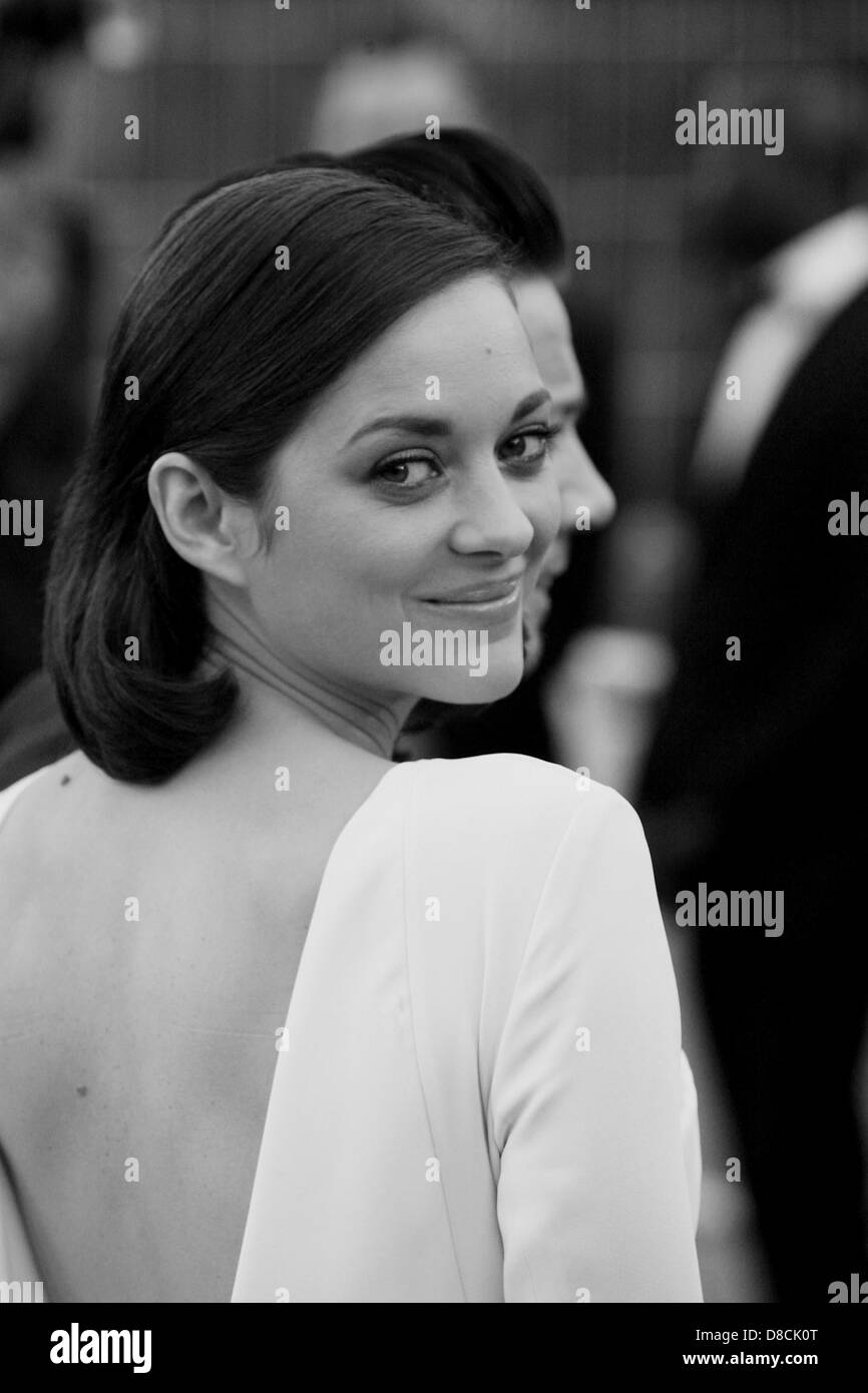 Marion Cotillard attends The Immigrant  Premiere - The 66th Annual Cannes Film Festival at the Palais des Festivals - Stock Image