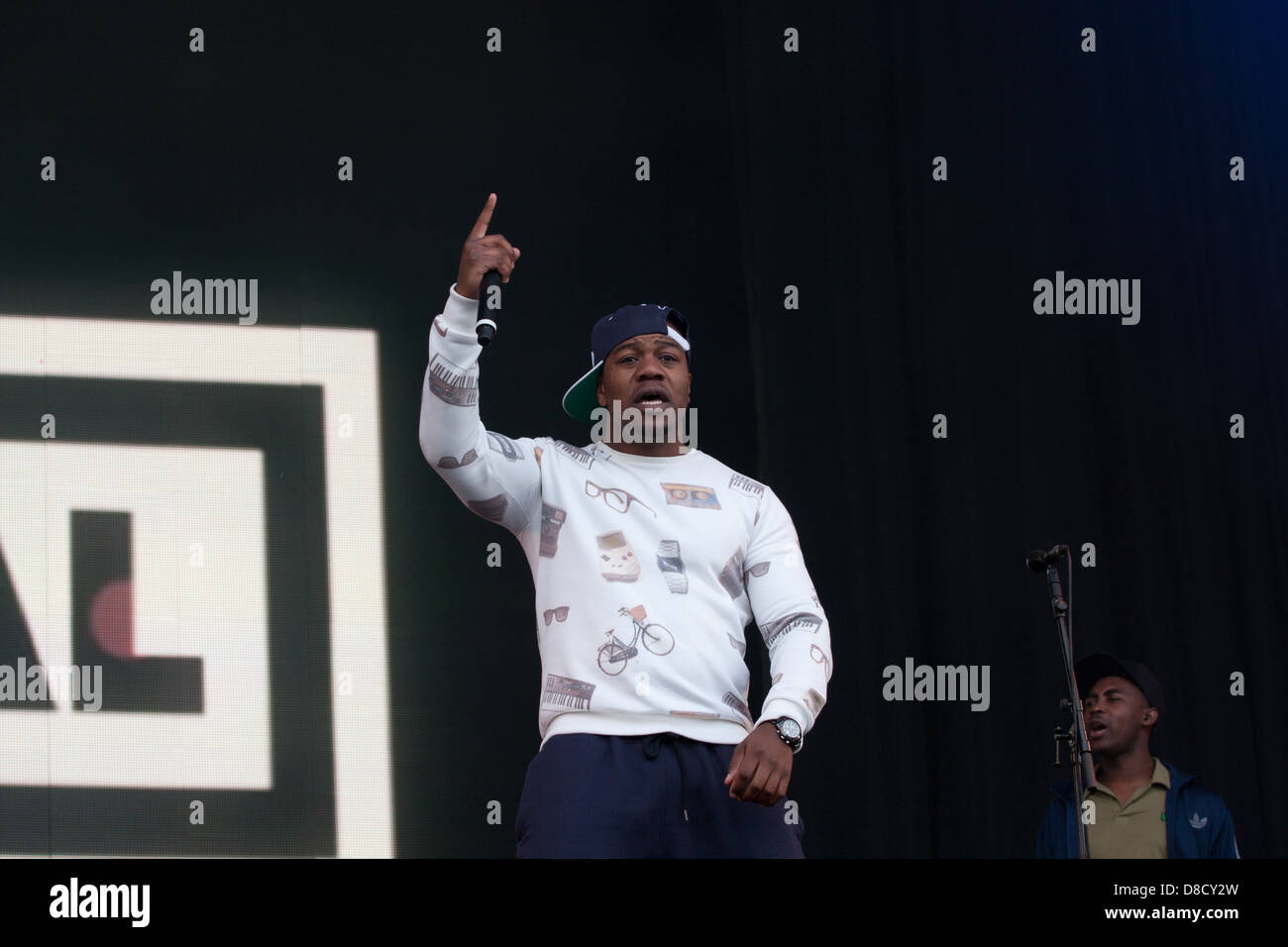 dj locksmith, rudimental - Stock Image