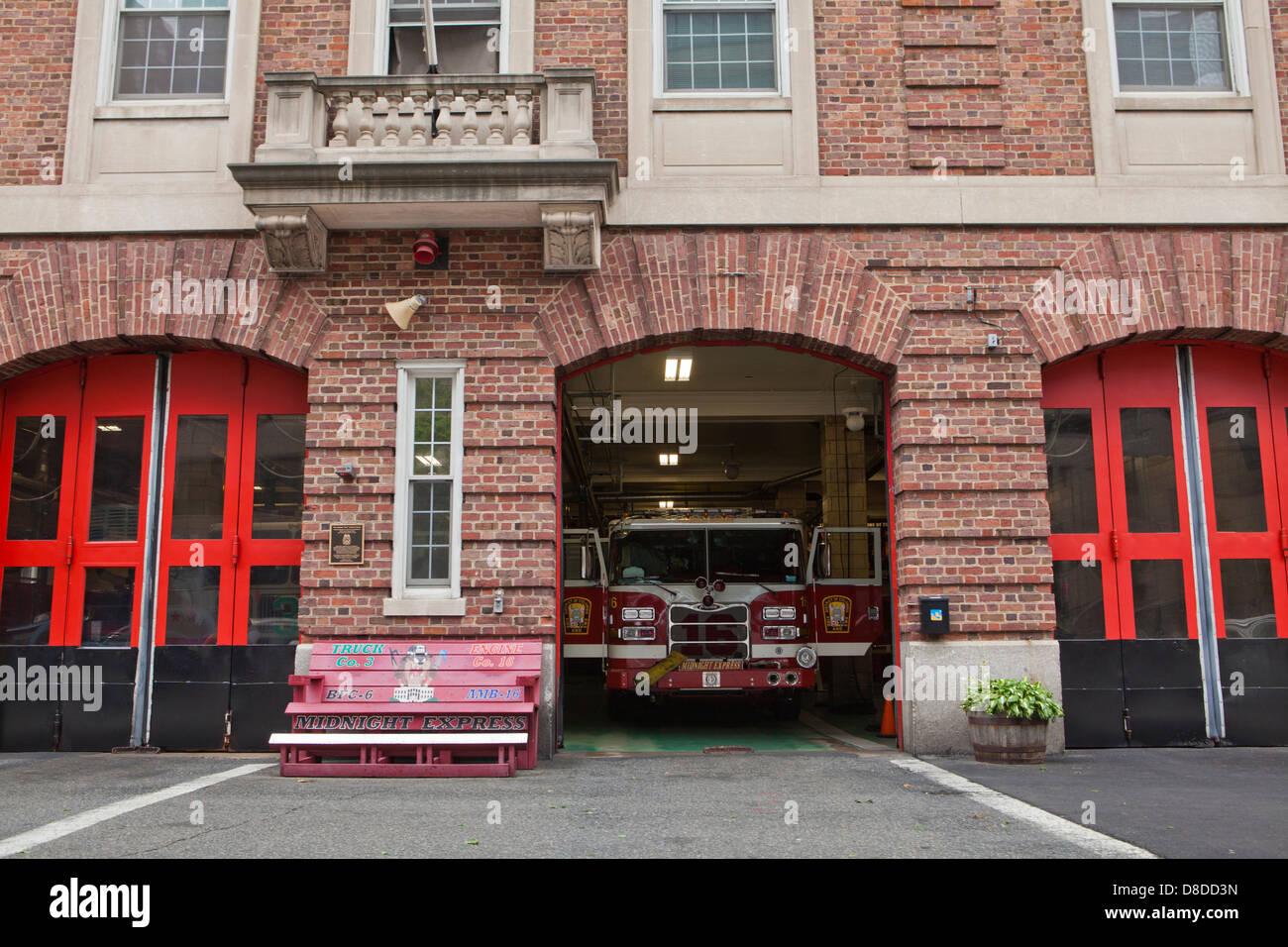 Fire station  - Washington, DC USA - Stock Image