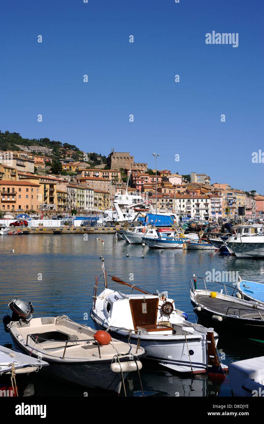 italy, tuscany, argentario, porto santo stefano - Stock Image