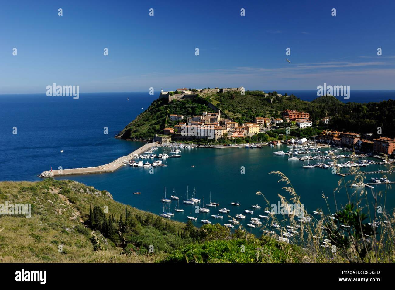 italy, tuscany, argentario, porto ercole Stock Photo