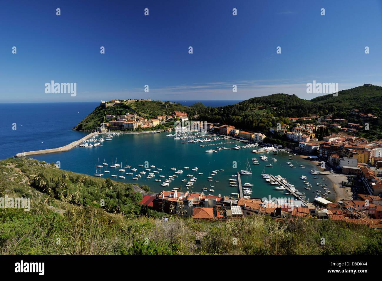 italy, tuscany, argentario, porto ercole - Stock Image