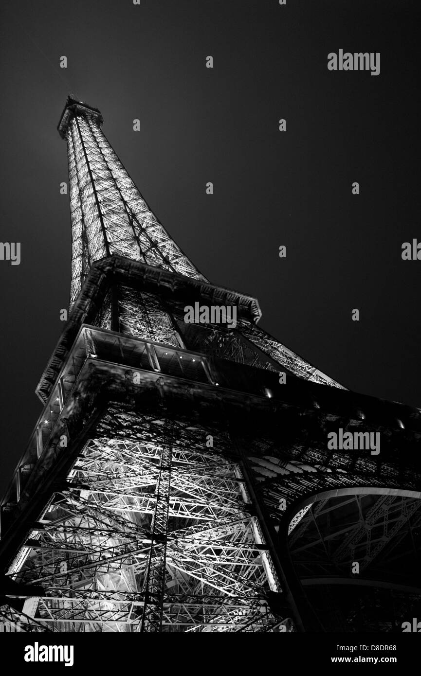 View of The Eiffel Tower. - Stock Image