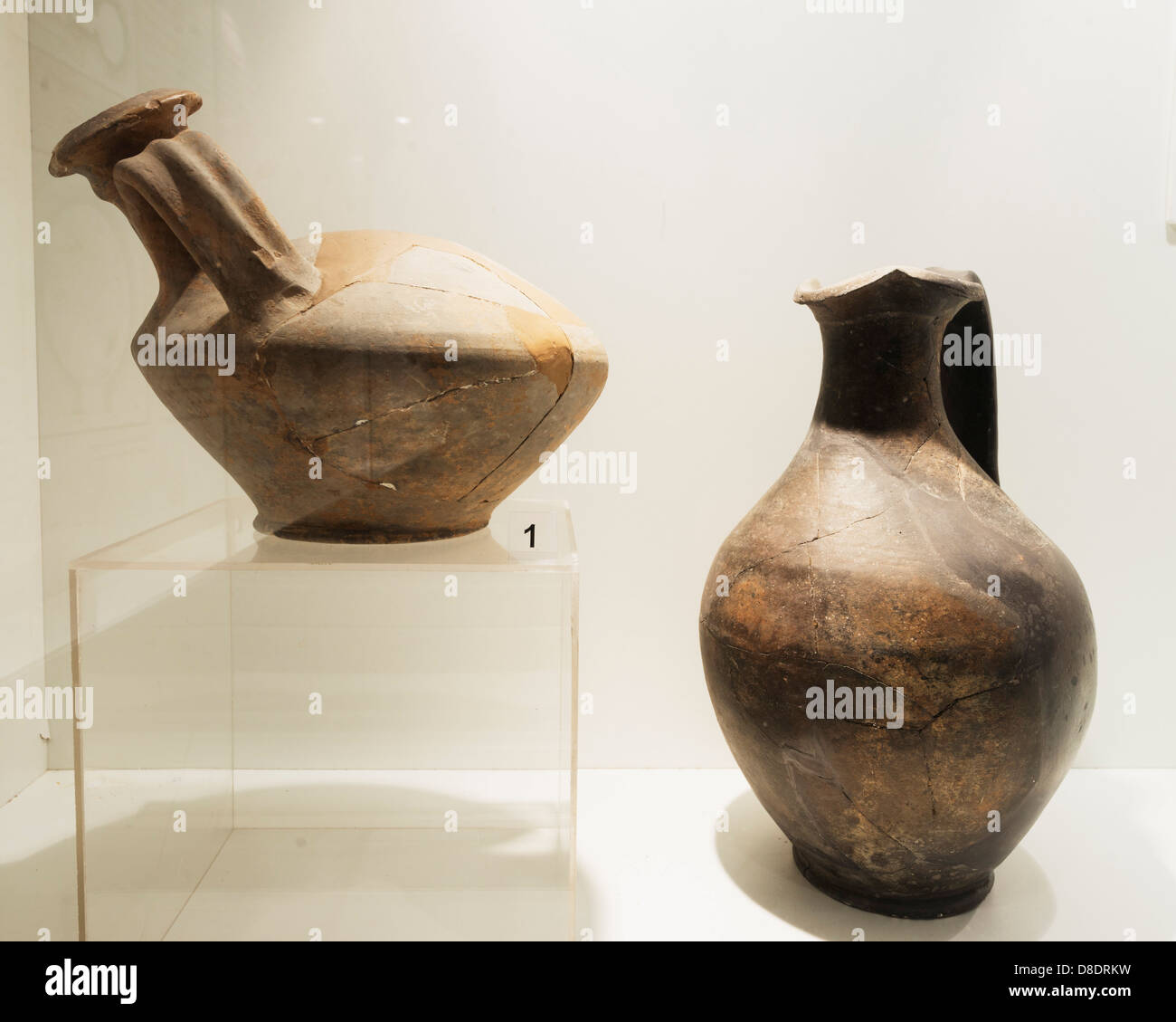 Europe, Bulgaria, Kazanlak; museum at Thracian Tomb of Kazanlak; Unesco World Heritage Site - Stock Image