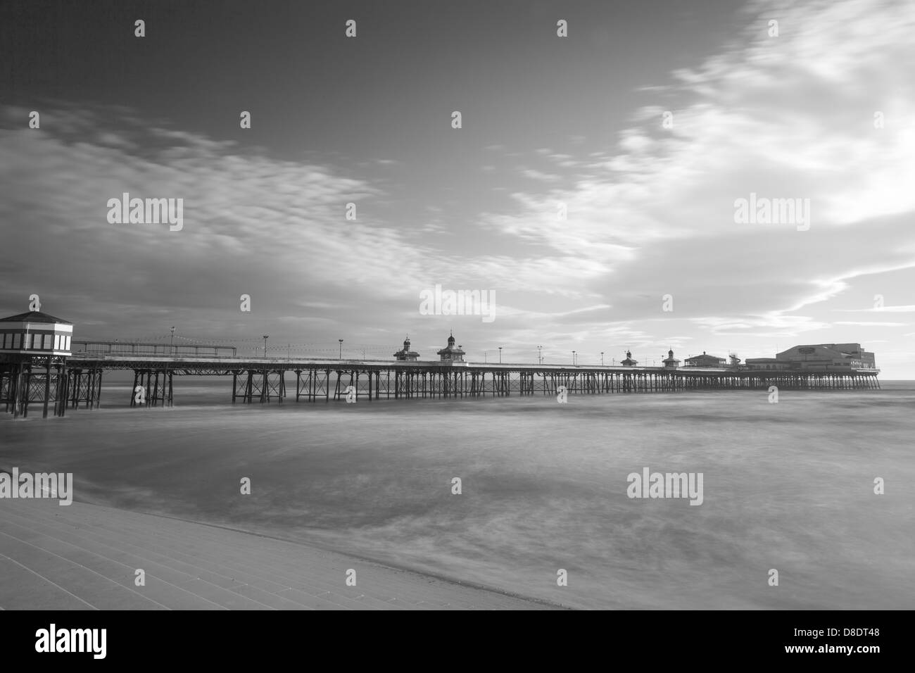 Blackpool North Pier, Lancashire, England, UK - Stock Image