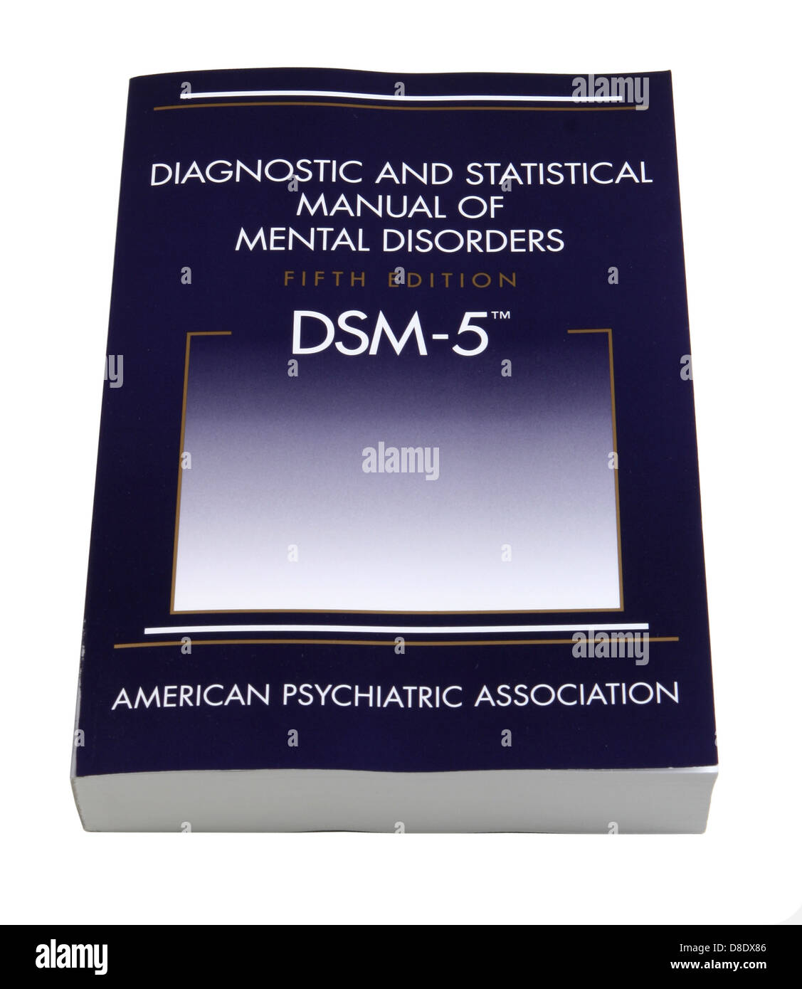Diagnostic and Statistical Manual of Mental Disorders, Fifth Edition (DSM-5) published by the American Psychiatric - Stock Image