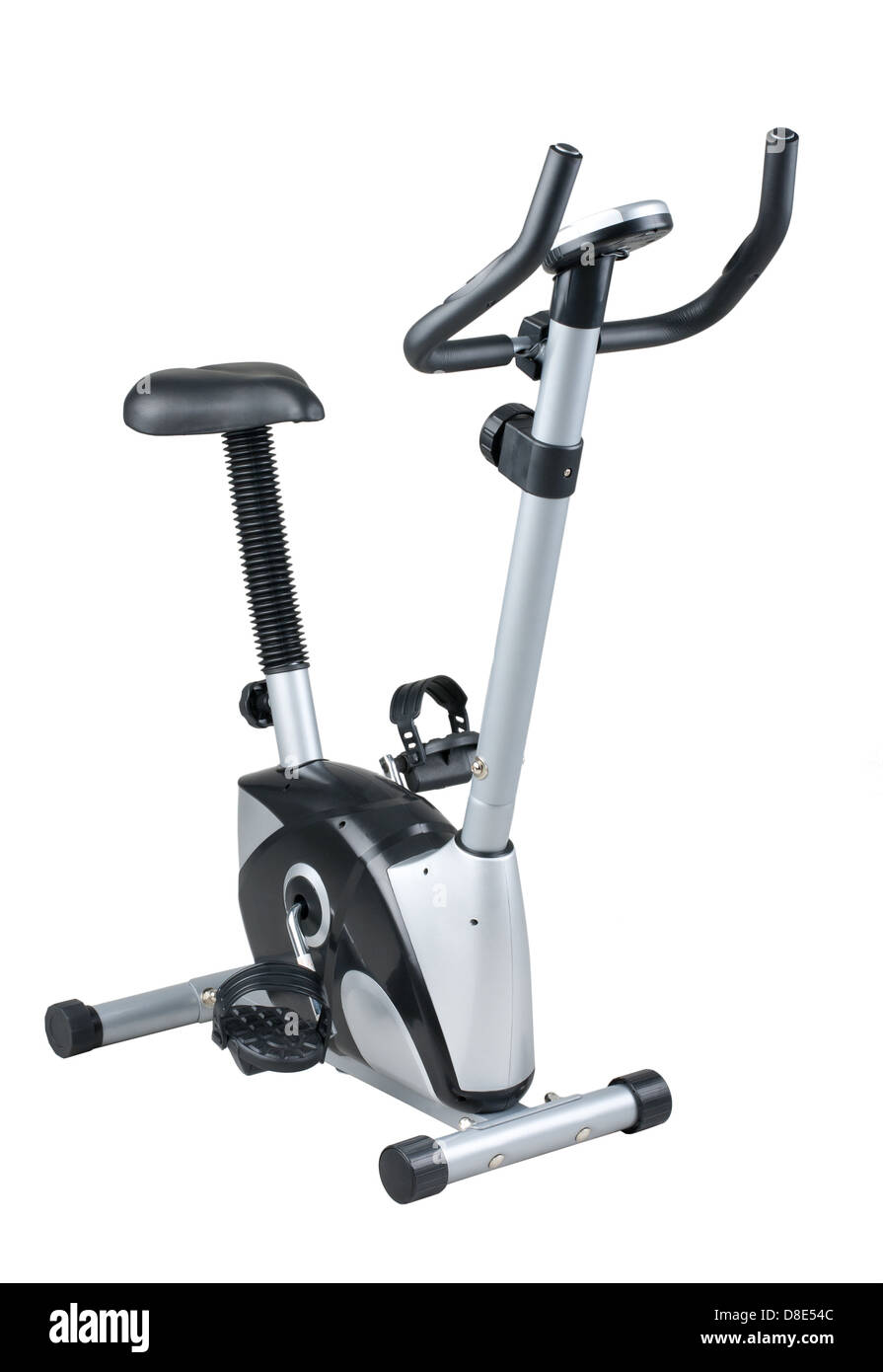 Bicycle exercise machine for use in fitness gym or home - Stock Image