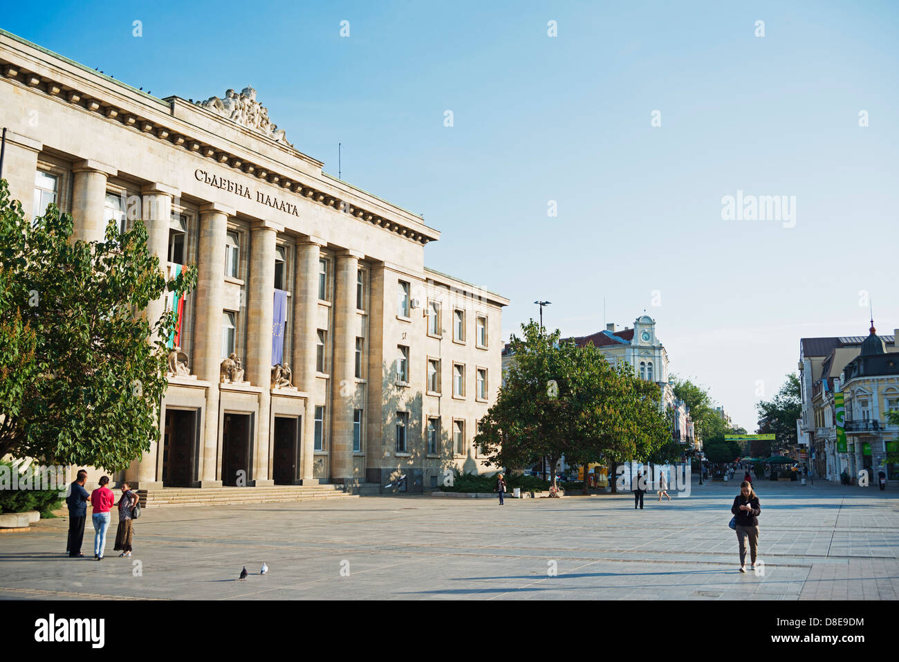 Europe, Bulgaria, Ruse, The Court of Justice - Stock Image