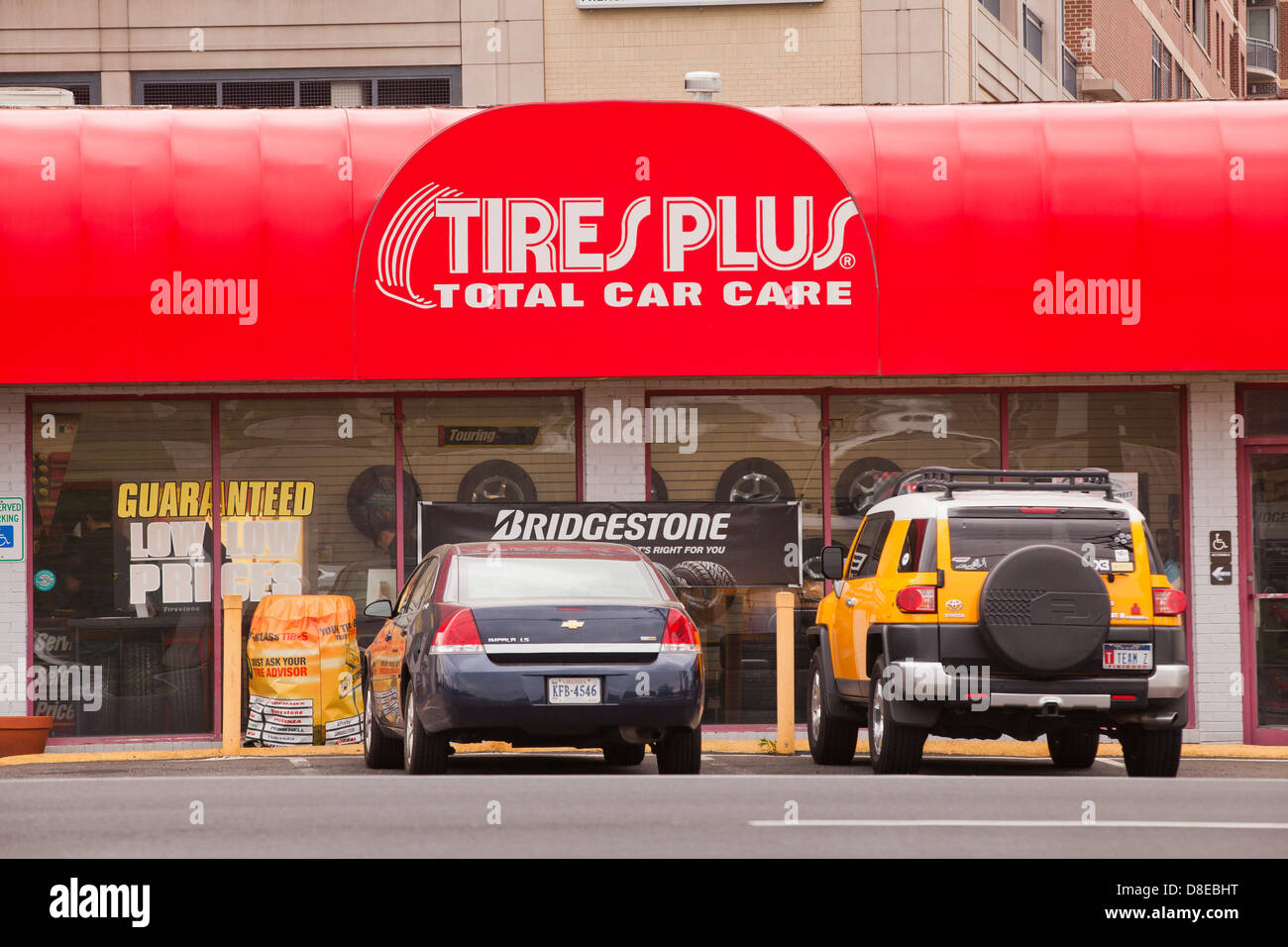 Tires Plus store - Stock Image