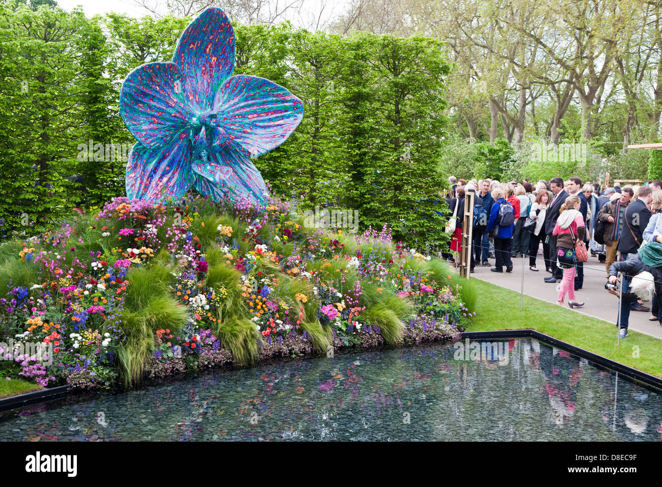 cdeaa2e2650 Centenary Sculpture by Marc Quinn At The Chelsea Flower Show 2013 London UK  - Stock Image