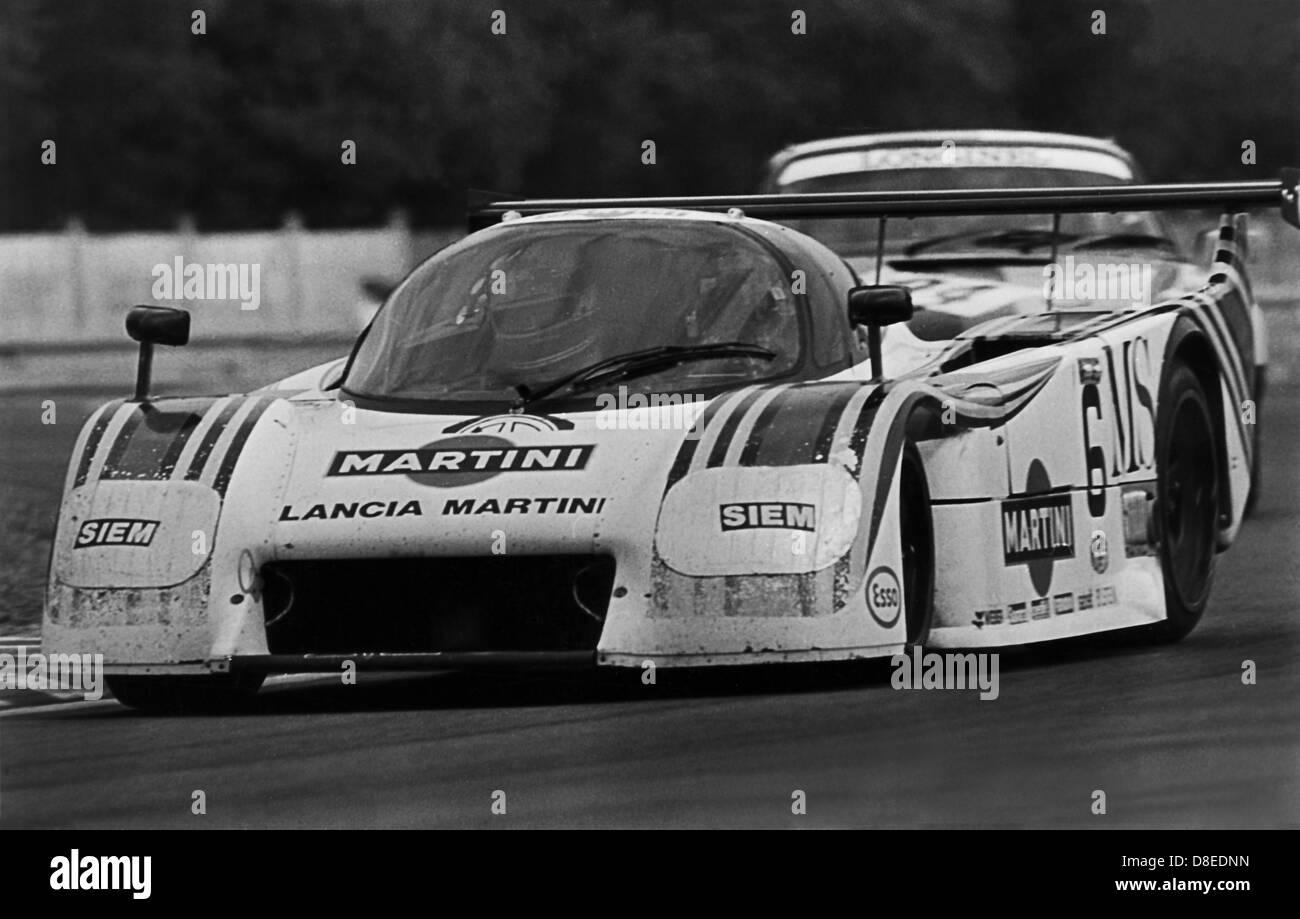 24 H of Le Mans 1983;Lancia Martini;Nannini, Andruet,Barilla - Stock Image