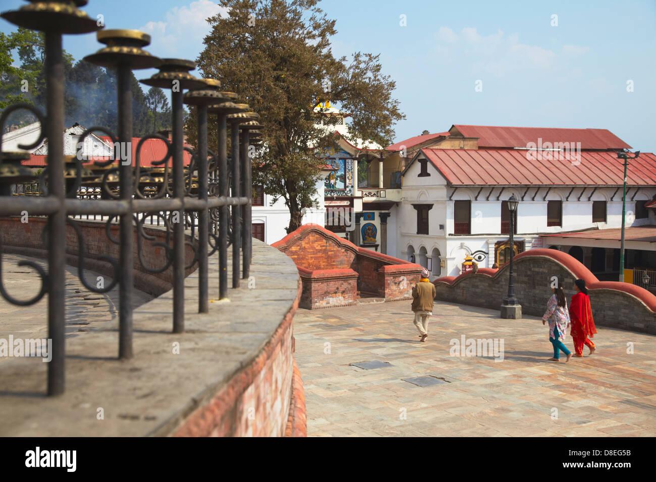 Pashupatinath Temple, Kathmandu, Nepal - Stock Image