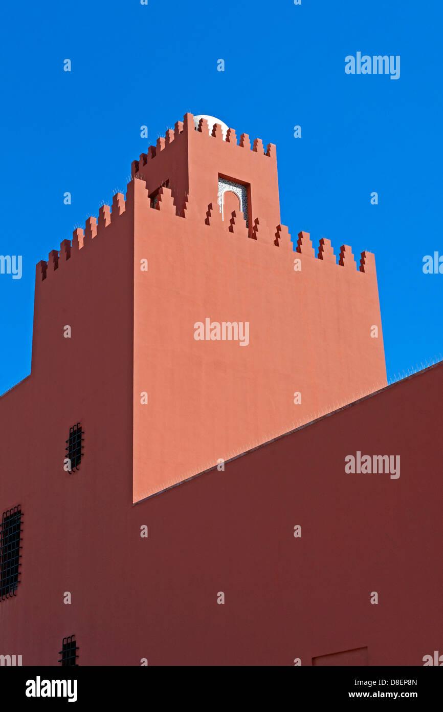 Castillo Bil Bil, Benalmádena, Andalusia, Spain - Stock Image