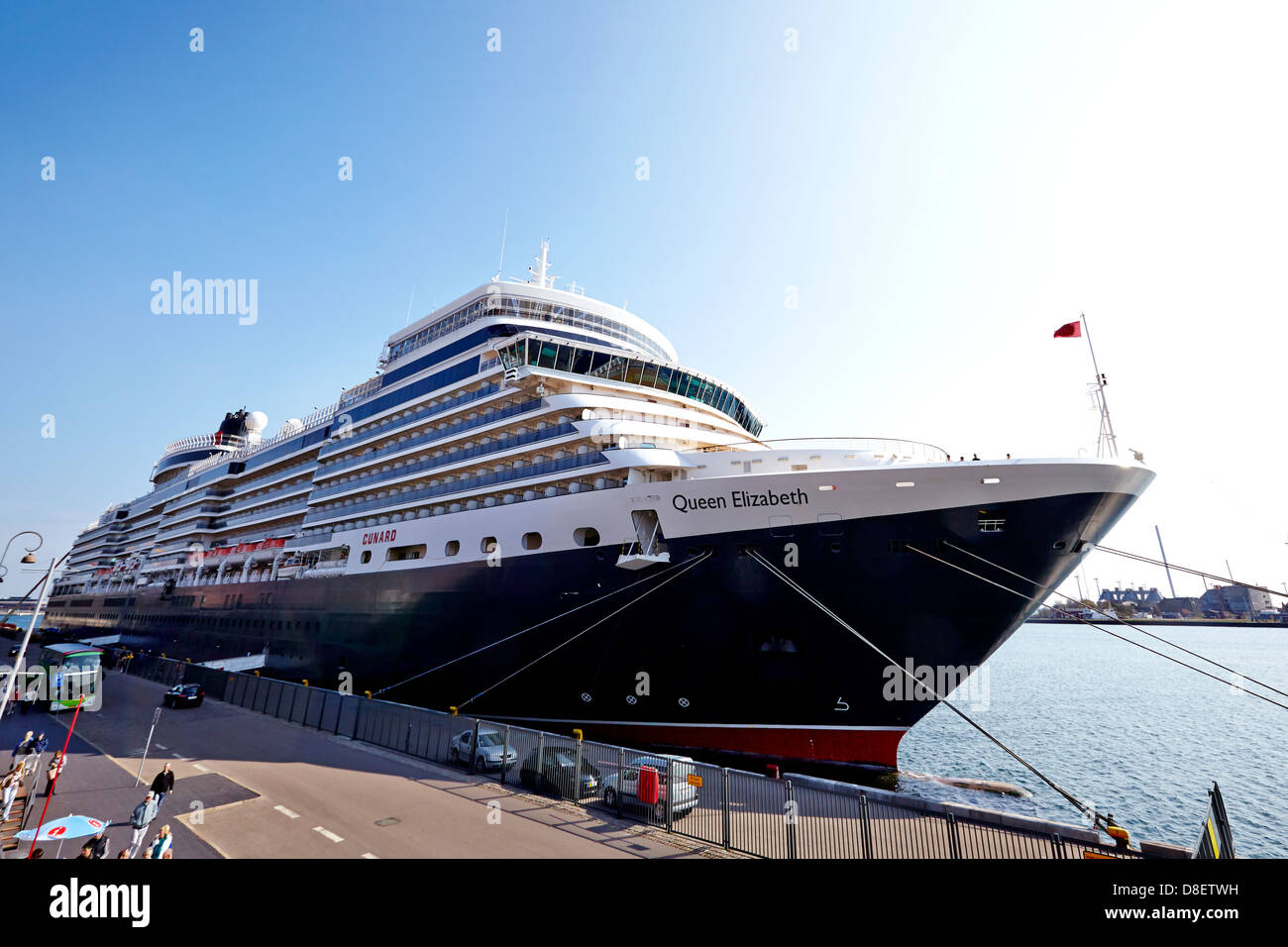 The Port of Copenhagen is a departue point for cruises to the Baltic countries and their capitals, to Norway's - Stock Image
