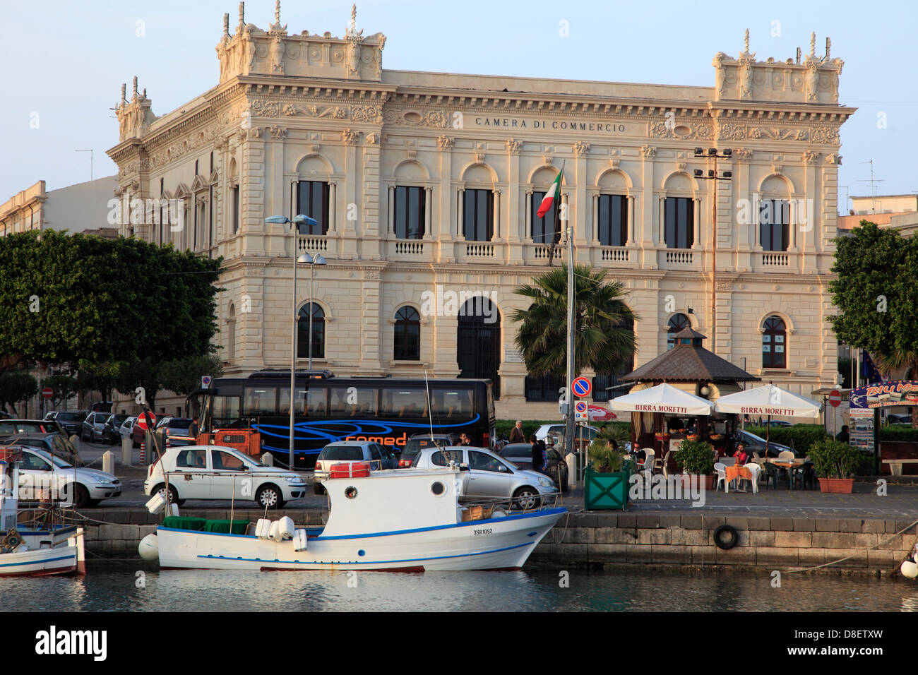 Italy, Sicily, Siracusa, Chamber of Commerce, - Stock Image