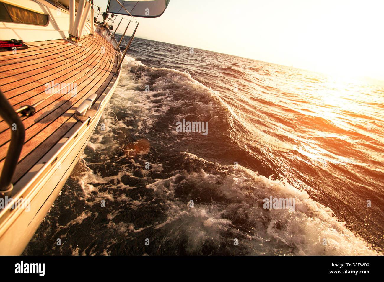 Sailing regatta - Stock Image