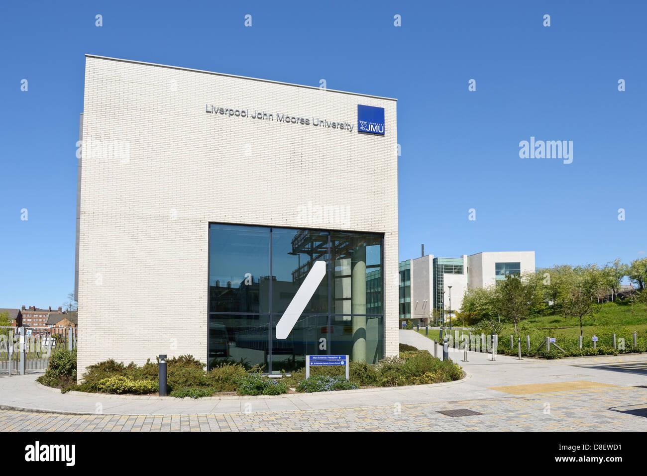 LJMU Liverpool John Moores University buildings - Stock Image