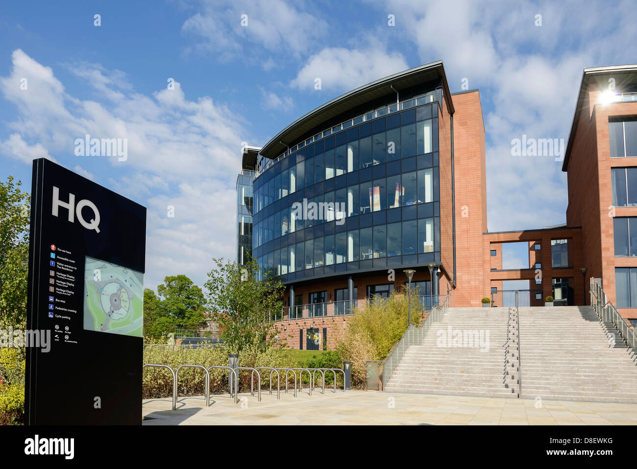 Chester and West Cheshire Council HQ Chester UK - Stock Image