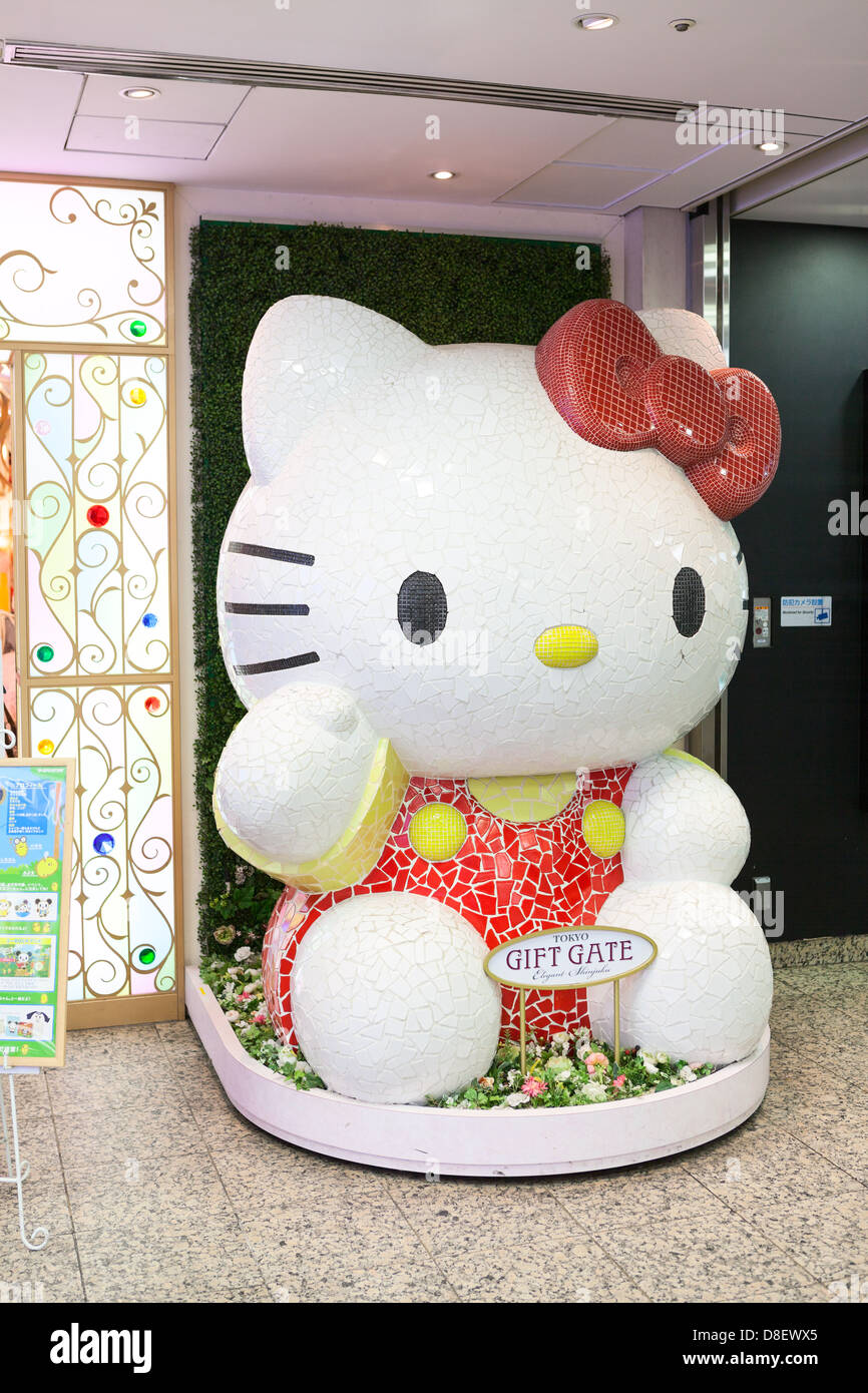 1fc97e8d5b The biggest Hello Kitty doll in front of the store Gift Gate Stock ...