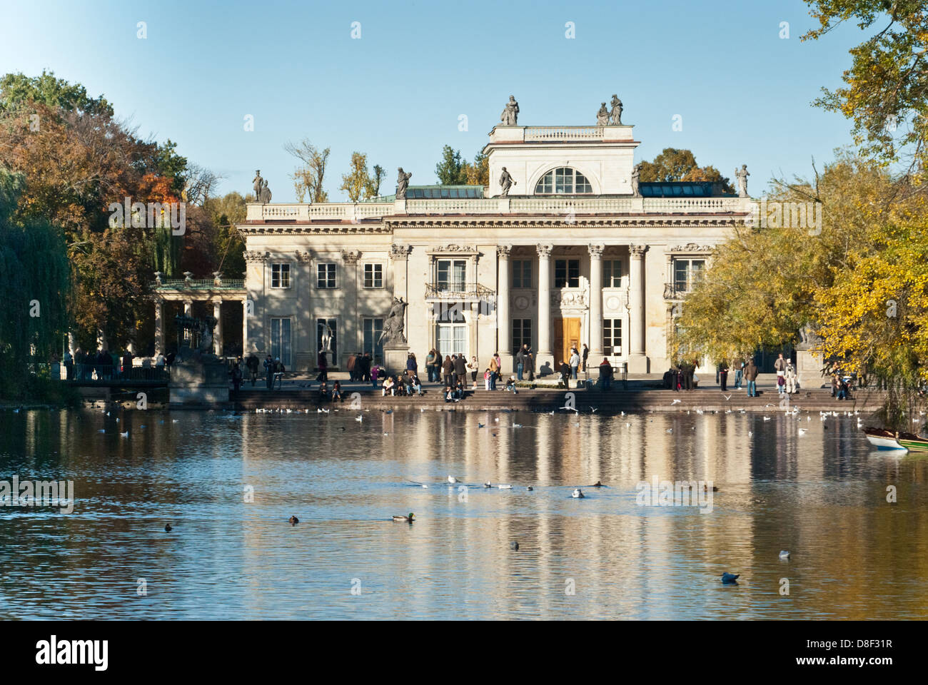 Palace On The Water South Face Royal Lazienki Park