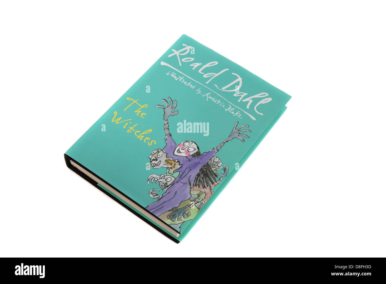 The Witches, a children's book by Roald Dahl. Stock Photo